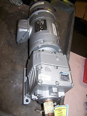 New Electra Gear .50 Hp Ac Electric Brake Gearmotor 230/460 Volt 17 Rpm Output