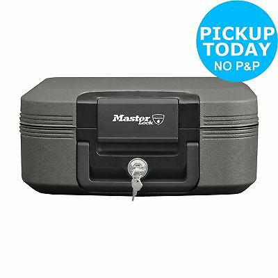 Sentry CHW20121 A4 Fireproof and Waterproof Safe Chest - Grey-From Argos on ebay