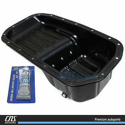 Engine Oil Pan w/ Silicone Fits 95-05 Hyundai Accent 1.5L 1.6L OEM 21510-26010