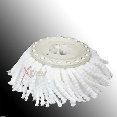 360° Spin Replacement Mop Micro Head Refill Microfiber Head For Magic Mop