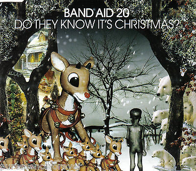 BAND AID 20 - Do They Know It's Christmas? (UK 3 Track CD Single) (G)