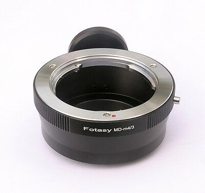 Minolta MD lens to Panasonic M4/3 MFT GH4 G10 G2 GF6 GX2 GX7 adapter Tripod Ring