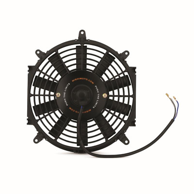 "Mishimoto 10"" Slim Line Electric 12v Fan - Black"