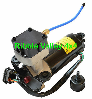 Land Rover Range Rover P38 Air Suspension Compressor Pump Anr3731 Dunlop