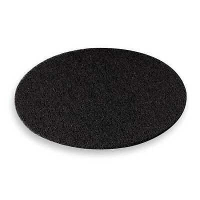 3M 7300 Stripping Pad, 20 In, Black, PK 5