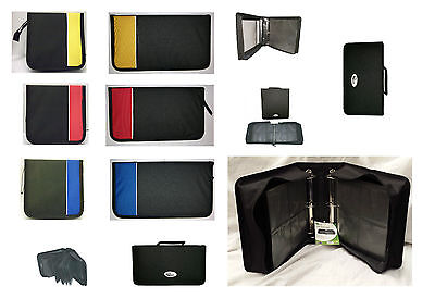 CD DVD Disc Carry Case Wallet Storage Folder Ring Binder 48 96 120 240 400 500