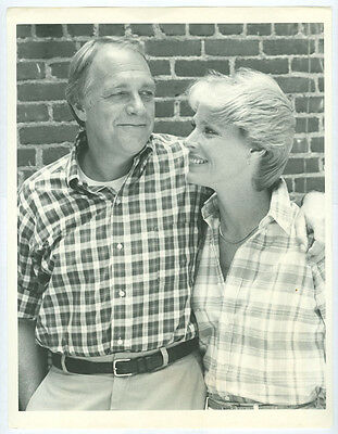 MARIETTE HARTLEY, HOWARD HESSEMAN television photo 1984 SILENCE OF THE HEART