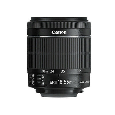Canon EF-S 18-55mm  f/3.5-5.6 IS STM Camera Lens Brand New USA