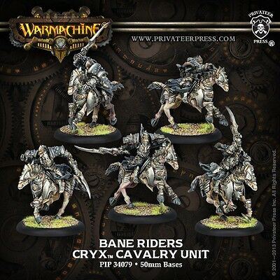 Warmachine Cryx Bane Riders Unit PIP 34079 Ages 11+ Current MKII Privateer Press