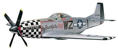 NEW Top Flite P-51D Mustang Kit .60-.90 65  TOPA0110
