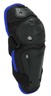 Alpinestars AYC Adult Offroad ATV Motocross Dirt Reflex Elbow Guard SM/MD Blue