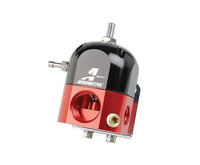 Aeromotive 13204 Fuel Pressure Regulator 3-15 psi Red and Black Universal Each