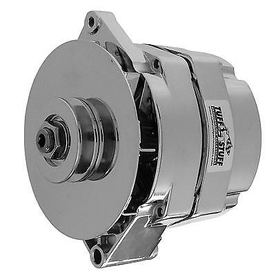 Tuff Stuff Replacement Alternator 100 Amps Polished 12V Gm 10Si Case 7127NCP