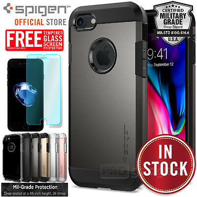 iPhone 8/7, 7/8 Plus,6S/6 Case, Genuine SPIGEN TOUGH ARMOR Cover for Apple