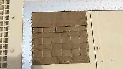 Lot of 10 Eagle Industries Side Armor Plate Pocket Carrier Coyote Brown Molle