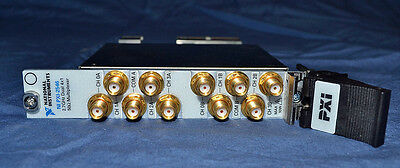National Instruments NI PXI-2546 2.7 GHz 50 Ω Dual 4x1 Mux Multiplexer Relay