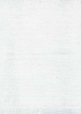 Fat Quarter 32 Count White Belfast Linen Cross Stitch Fabric Zweigart
