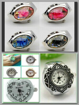 Bozhi Ring Watch/stretch Band/stainless Steel/assorted Styles