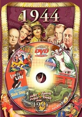 1944 Flickback DVD Greeting Card: Great Birthday Gift or Anniversary Gift