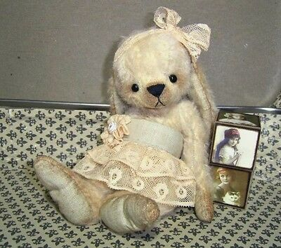 9 inch Mohair//Bear Pattern Outfit Incl