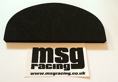 Foam Track Race Bike Motorcycle 10mm Seat Pad Bump Stop Chock Self Adhesive