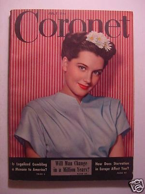 CORONET July 1946 SUPERMAN JERRY SIEGEL JOE SHUSTER JENNY LIND JOHN CLYMER +++