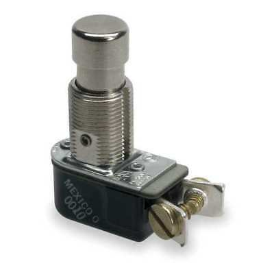 CARLING TECHNOLOGIES 110-SP Miniature Push Button Switch,6A @ 125V