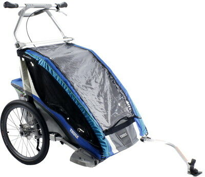 Thule Chariot Cx2 Blue Child Bike Carrier
