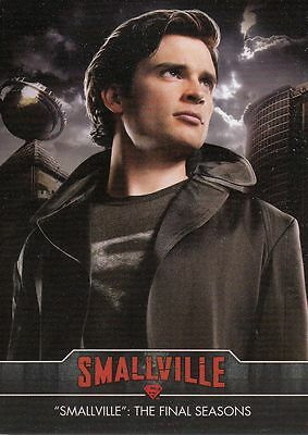 Smallville Final Seasons  Trading Card Set (85 Cards)