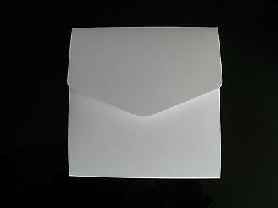 10 Blank pocketfold wedding event invitations cards diy with envelopes