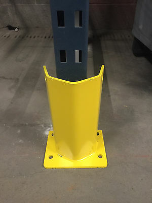 """COLUMN GUARD FOR PALLET RACK FRAME 12"""" tall USED TO PROTECT TEARDROP UPRIGHT"""