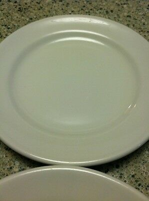 "Vintage Lot of 4 Shenango Ivory Restaurant Ware 7"" Bread Plate 1950's Excellent"