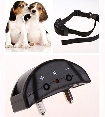 Anti Bark No Barking Tone Shock Control Training Collar for Small Medium Pet Dog