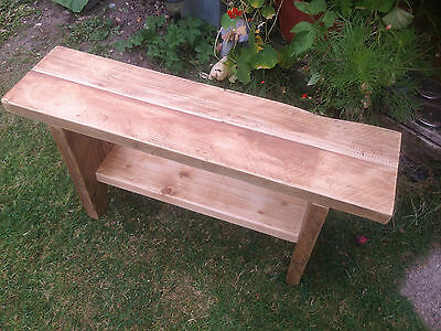 solid reclaimed pine bench.rustic bench reclaimed timber .reclaimed wooden bench