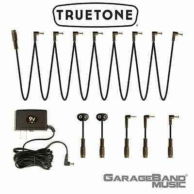 Truetone (Visual Sound) 1-Spot Pedal Power Supply COMBO PACK!  One Spot NW1CP2