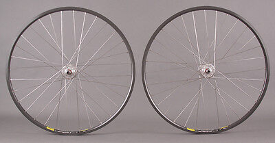 Mavic Open Pro CD Rims Fixed Gear Track Bike Wheels Wheelset 32h Formula Hub