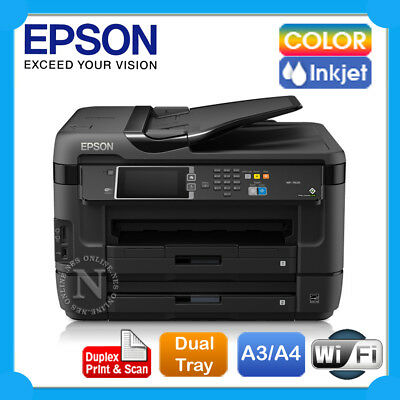 EPSON WorkForce WF-7620 A3 All-in-One Wireless Color Printer+Auto Duplexer+FAX