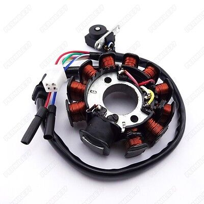 gy6 50 110 150cc ignition stator magneto 8 coil scooter moped atv 11 pole coils ignition stator magneto for gy6 125 150cc moped scooter atv roketa