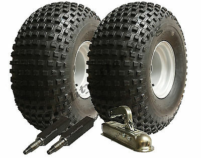 ATV trailer kit - Quad trailer - wheels + hub / stub + hitch, 310kg