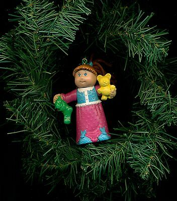 McDonald Cabbage Patch Kid Holiday Dreamer custom Christmas ornament CPK  doll