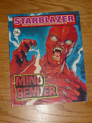 STARBLAZER Comic - No 167 - Date 1986 - D C Thomson Comics
