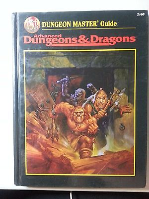 Dungeon Master Guide (Advanced Dungeons & Dragons, 2nd Edition, Core Rulebook)