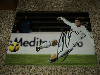 Sergio Ramos Signed Real Madrid 11x14 Photo with proof