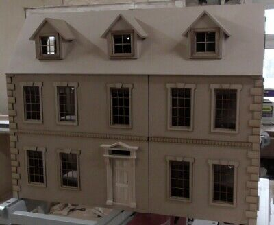 1/12 scale Dolls House  Dalton 7 room House 3ft wide  KIT   By DHD