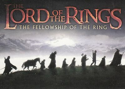 LOTR Fellowship of the Ring Trading Card Set (90 Cards)