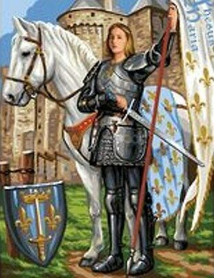 Saint Joan Of Arc Tapestry Canvas