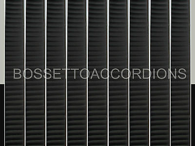 Accordion BELLOWS TAPE BLACK WITH STRIPES Roll 19mm x 8.89m (350 inches) Parts
