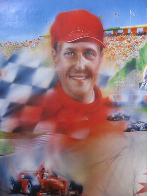 Michael Schumacher POSTER (61x91cm) Picture Print New Art