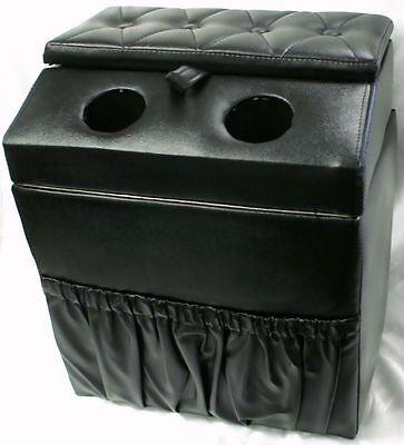 Black Centre Console. Truck,, May fit Freightliner,Mack,Kenworth,W-star,Cat