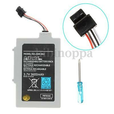 3600mAh 3.7V Rechargeable Extended Battery for Nintendo Wii U Gamepad Controller